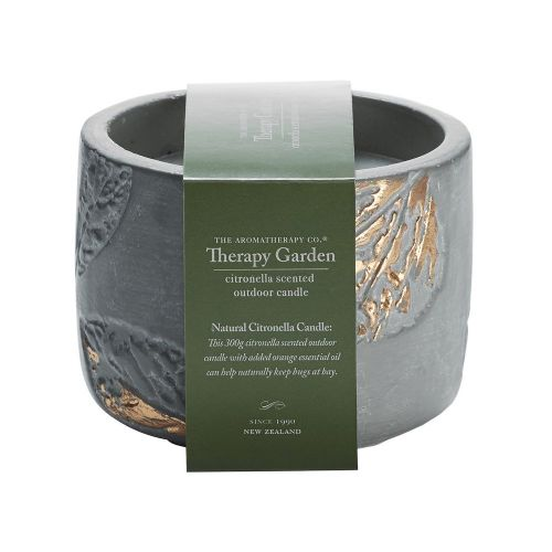 Therapy Garden Citronella Candle by The Aromatherapy Co.